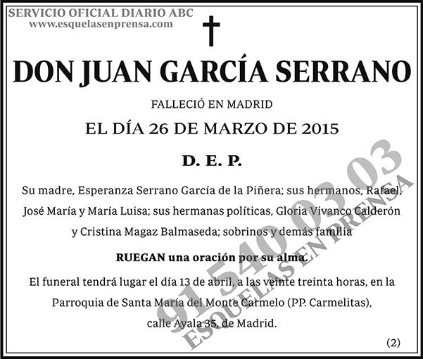 Juan García Serrano